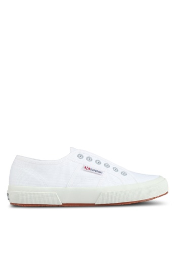 Superga white Cotu Slip Ons 870A3SHE996D29GS_1