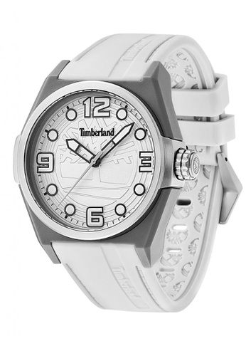 Timberland white Timberland RADLER White  42mm Men's Watches (TBL.13328JPGYS/04) 33430ACCED56EFGS_1