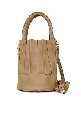 SHINE beige SHINE Small hand bag 84443ACD19F486GS_1