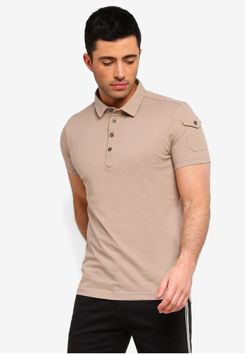 Shop Brave Soul Pique Polo Shirt Online on ZALORA Philippines 8e8b8c737