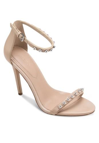 Mckinnons 圓珠飾一字帶繞踝高跟鞋, esprit 衣服女鞋, 鞋