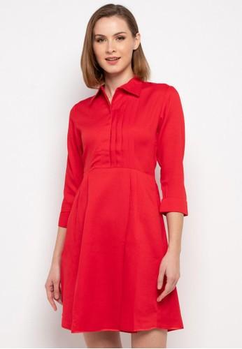 Novo red Dress A-line 190 C6E6FAAAB133A6GS_1