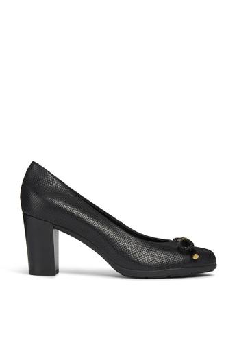 Geox black Annya High Heel Shoe 02B45SHA4745DFGS_1
