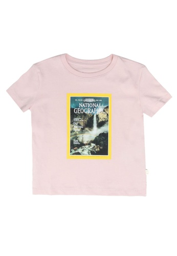 GAP green National Geographic T-Shirt 8E84AKA21BF1ACGS_1