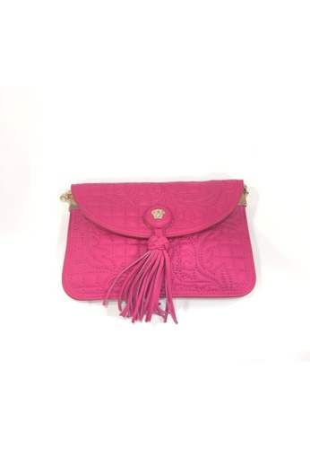 Versace pink VERSACE VANITAS CROSSBODY PURSE 00A5DAC8739F0DGS_1