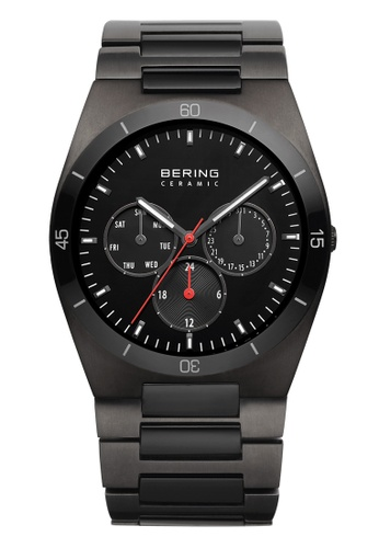 Bering grey Ceramic 32341-792 Black 41 mm Men's Watch 18B2BAC4AAA554GS_1