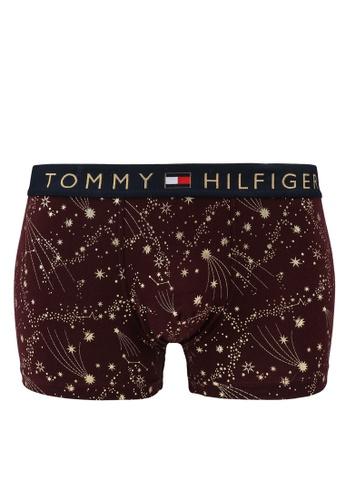 Tommy Hilfiger red Original Cotton Trunks - Tommy Hilfiger C62A9USC42F509GS_1