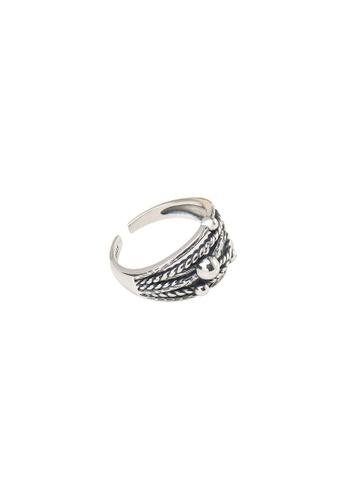 A-Excellence silver Premium S925 Sliver Geometric Ring 6D6DEAC5C0EA37GS_1