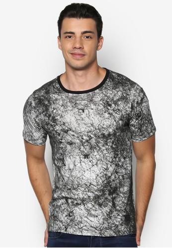 印花棉質Tesprit台灣outletEE, 服飾, 印圖T恤