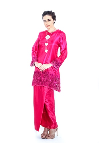 Adam.R pink Kurung Serena 35BBEAAE752C0FGS_1