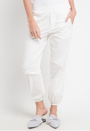 SIMPLICITY white Relax Pants F62F6AA2B963A0GS_1