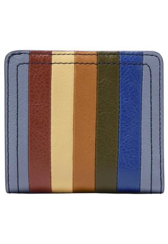 FOSSIL blue Logan Wallet SL6507550 AF160ACE09E03EGS_1