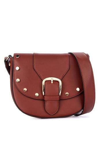 Springfield brown SHOULDER BAG STUDS 333D6AC82925FDGS_1