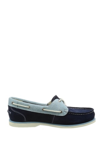 Timberland blue Classic Boat Unlined Boat Shoes 4792DSHAFA0F18GS_1