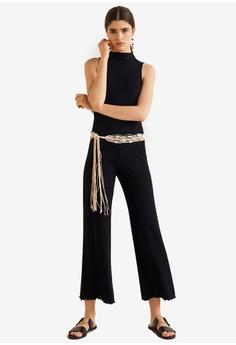 99a8c79bf9614 Mango black Ribbed Knit Jumpsuit D3725AA6525E7CGS_1