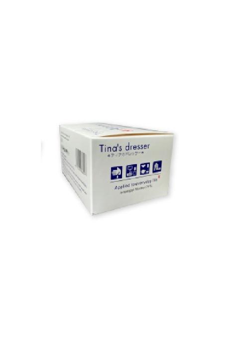 AlohaLife Tina's Dresser - 75%消毒酒精濕紙 (五盒優惠裝) (3 x 6 cm, 每盒100張, 共500張)
