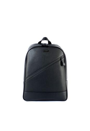RENOMA Paris black Renoma Men's Backpack 1960071-04 19835AC6656E19GS_1