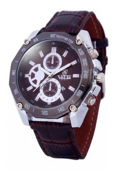 Valia Sander Leather Strap Watch 8178-1