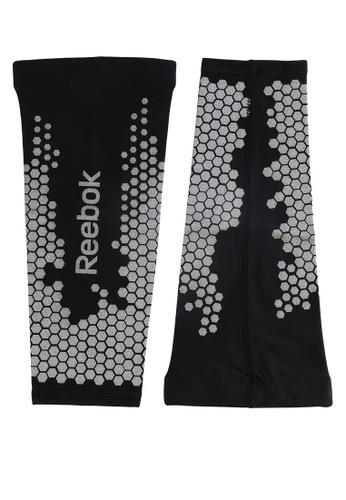Reebok black Compresson Calf Sleeves RE691AC14OHTMY_1