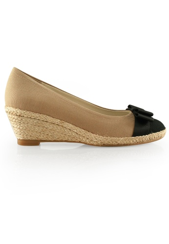 939bfd8266b Simplyher Round Toe Espadrille Wedges