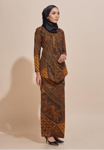 Buy HABRA Kara Kebaya Batik KR48 from HABRA in Yellow only 229