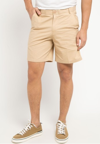 Sparse Label beige EASY SHORTS DCC16AA5162605GS_1