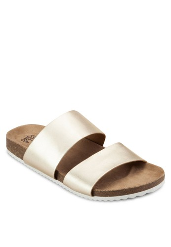 Shore Thing 雙寬帶PUesprit服飾 涼鞋拖鞋, 女鞋, 鞋