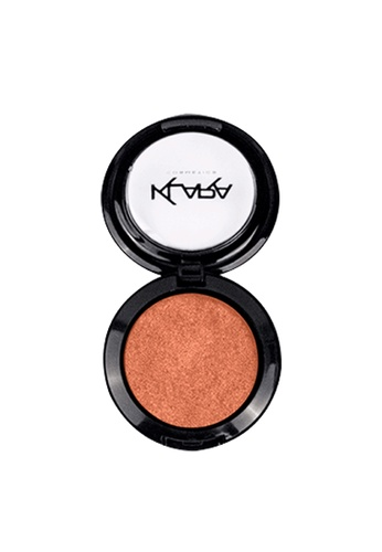 KLARA COSMETICS red Shimmer Eyeshadow #39 - Copper Red 33447BE4915AA8GS_1