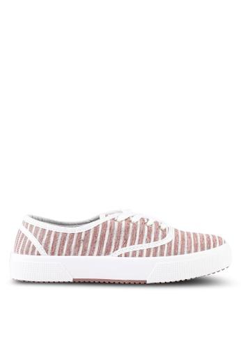 Rubi pink Ellis Plimsolls Sneakers 6C83DSH8AB14CAGS_1