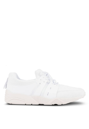 ZALORA white Mix Material Trainers 43F52SHE242793GS_1