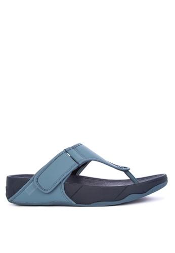 Fitflop blue Trakk II Sandals A196FSH509CAD0GS_1