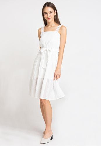L'zzie white LZZIE KATHERYN DRESS - WHITE B3828AA75C1BE6GS_1