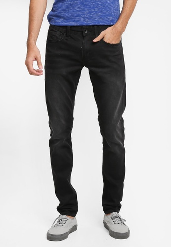 Superdry black Faded Skinny Jeans SU137AA0T22SMY_1