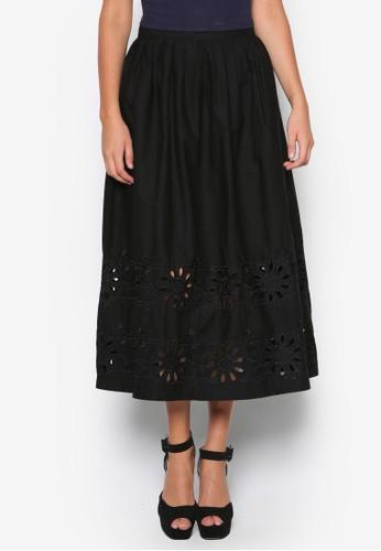 esprit 香港繡花及膝短裙, 服飾, 服飾