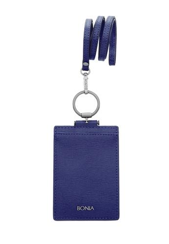 BONIA Dark Blue Fia Cardholder 94816AC6D1FEEBGS_1