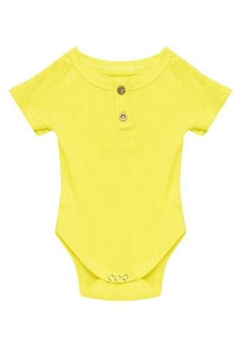 RAISING LITTLE yellow Shane Onesies 34534KA34B1B86GS_1