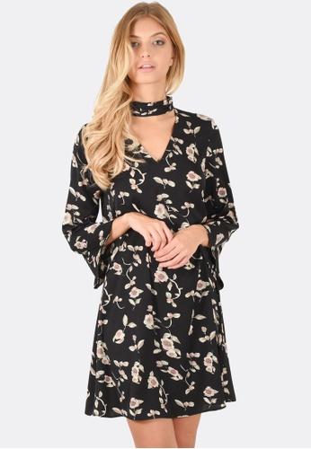 FORCAST black Rae Choker Dress FO347AA0F7GNSG_1