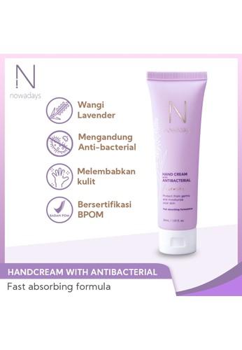 Nowadays Care Indonesia lilac purple NOWADAYS HANDCREAM ANTIBACTERIAL - Handcream Sanitizer 30ml 0749BESCCA0BEBGS_1