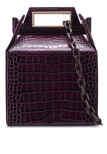 Pop & Suki purple Takeout Bag D0558ACA0D7019GS_1