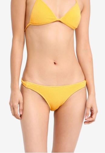 TOPSHOP orange Twist Side Bikini Bottoms TO412US0T0VHMY_1