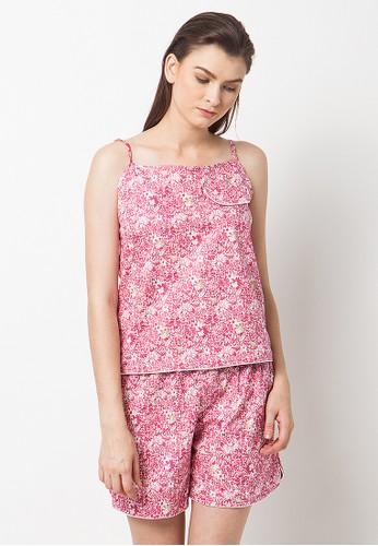 Madeleine's Fallie Pink Set Pajamas