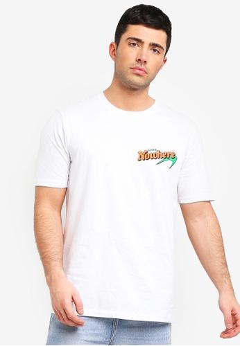 Cotton On 白色 短袖印花T恤 D910BAA47CDB32GS_1