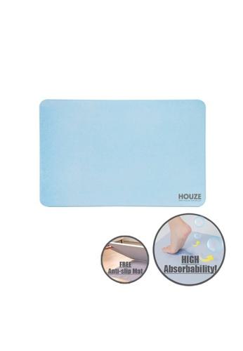 HOUZE blue HOUZE - Diatomite Absorbent Mat (Large) - Blue 2FC22HLCAB6136GS_1