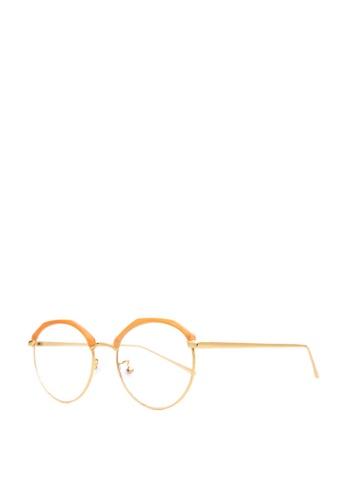 Caoros orange Olympia Round Glasses CA288GL64AKHPH_1