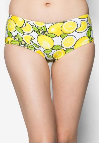 檸檬平口泳褲,esprit 品牌 服飾, 服飾