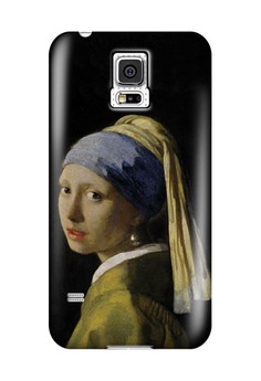 Pearl Earring Matte Hard Case for Samsung Galaxy S5