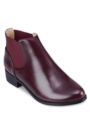 Chelsea 仿皮低跟zalora時尚購物網評價踝靴, 女鞋, 鞋