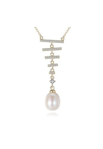 SUNRAIS gold High-grade colorful stone gold fashion necklace 5E19BAC709F63AGS_1