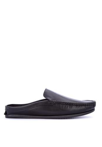 Itti black Slide Loafers B87F1SHDF750ECGS_1