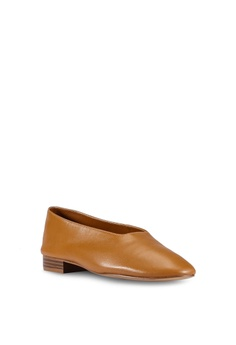 fa12d2dc39f0 43% OFF Mango Leather Ballerina Flats S  89.90 NOW S  50.90 Sizes 39 40